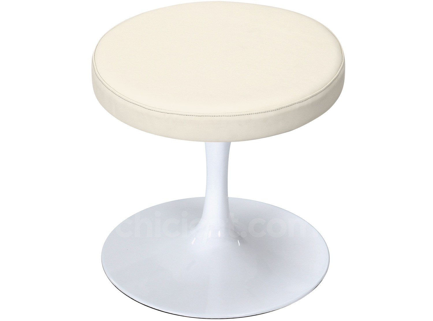Tulip stool by eero saarinen aluminum platinum replica for About a stool replica