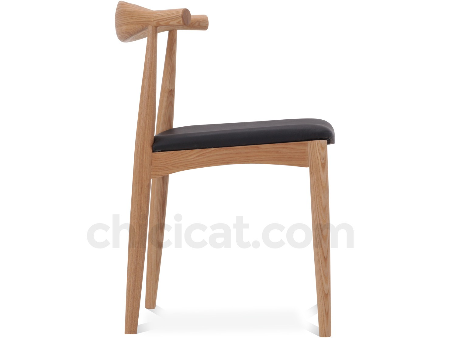 Wegner ch20 elbow chair platinum replica - Wegner wing chair replica ...