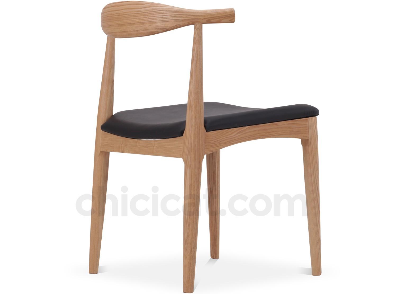 Wegner CH20 Elbow Chair Platinum Replica