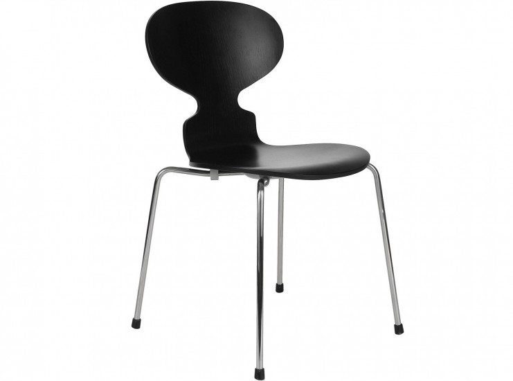 Ant Chair by Arne Jacobsen (Platinum Replica)