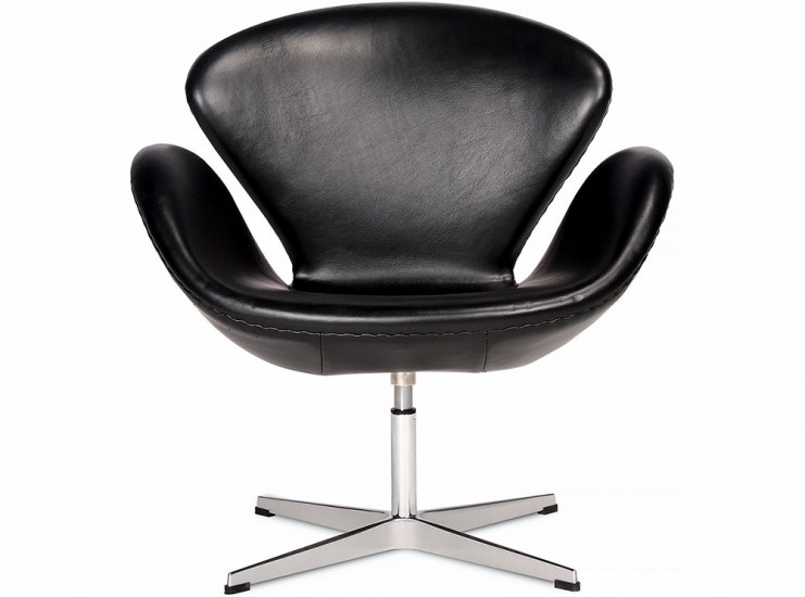 Replica Swan Chair By Arne Jacobsen Leather Chicicat