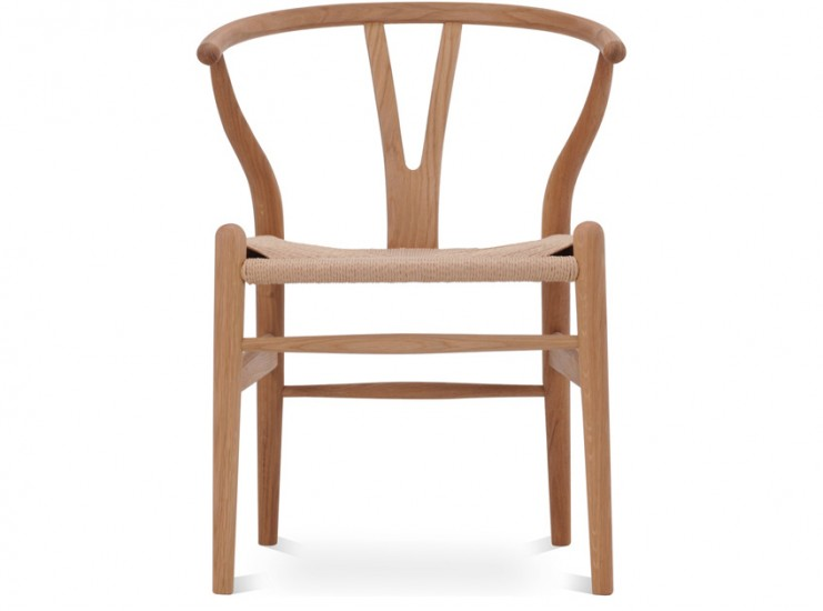 Wegner CH24 Wishbone Chair (Platinum Replica)