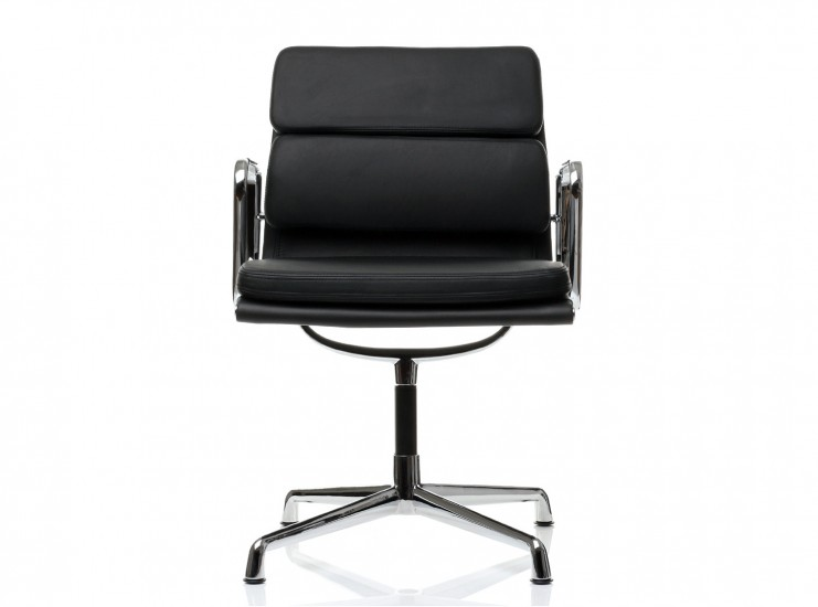 Eames Office Chair EA208 Soft Pad Group Fixed Low Back (Replica)