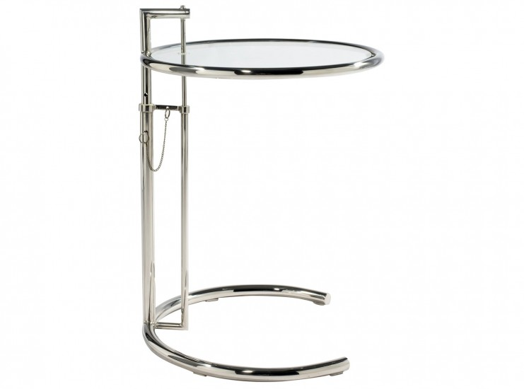 Eileen Gray E1027 Adjustable Side Table (Replica)