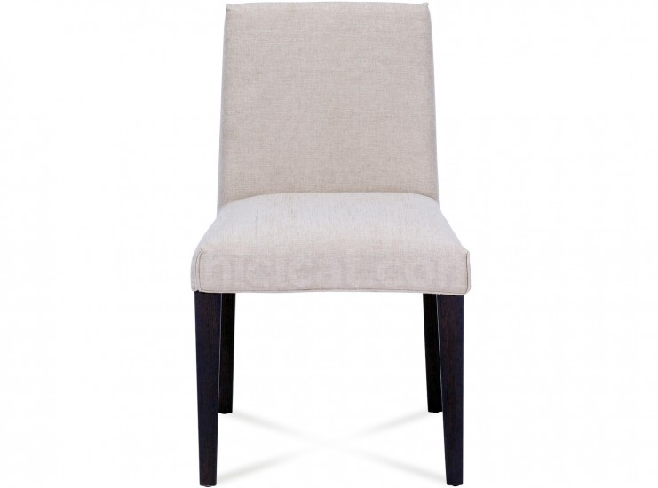 Evelyn Armless Dining Chair ... Pictured in Oatmeal