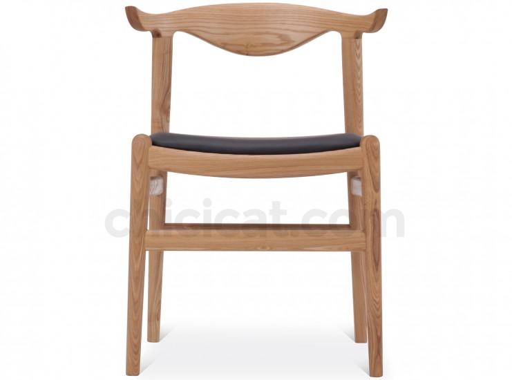 Wegner PP505 Cow Horn Chair (Platinum Replica)