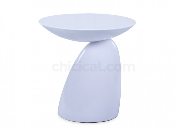 Parabel Side Table Fiberglass by Eero Aarnio (Replica)