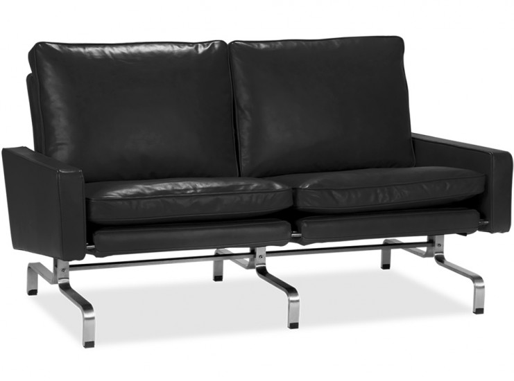 PK31 Sofa 2 Seater by Poul Kjaerholm (Platinum Replica)