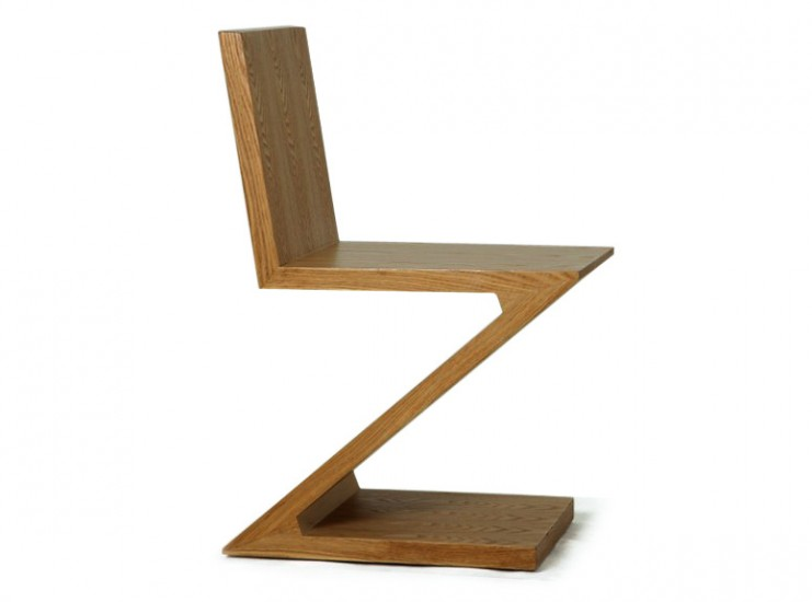 Rietveld Zig Zag Chair Replica