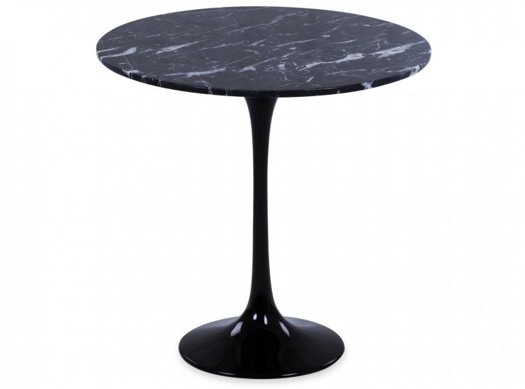 Tulip Side Table by Eero Saarinen (Platinum Replica)