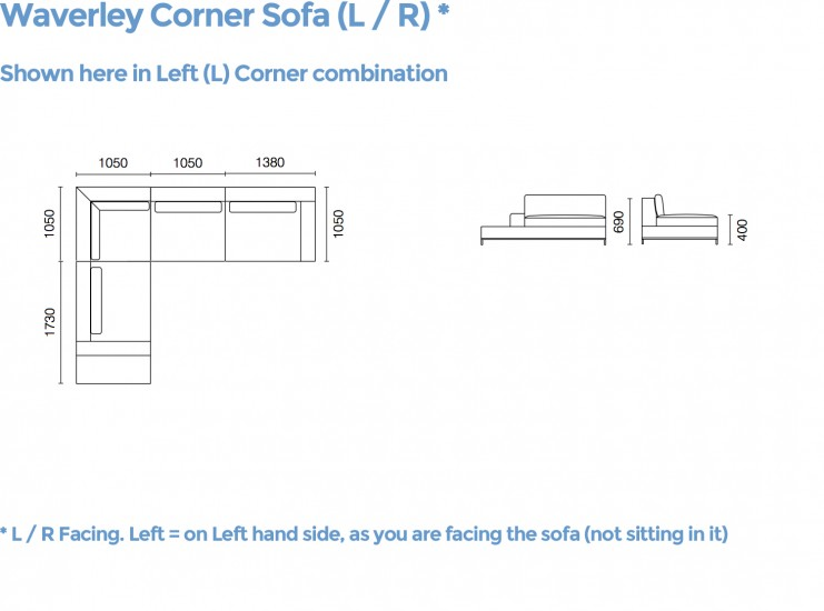 Waverley Corner Sofa