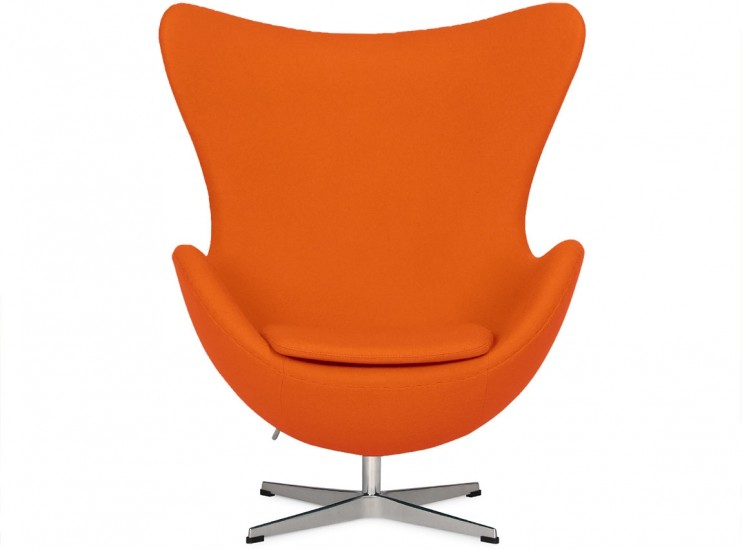 Egg Chair by Arne Jacobsen Orange (Platinum Replica)