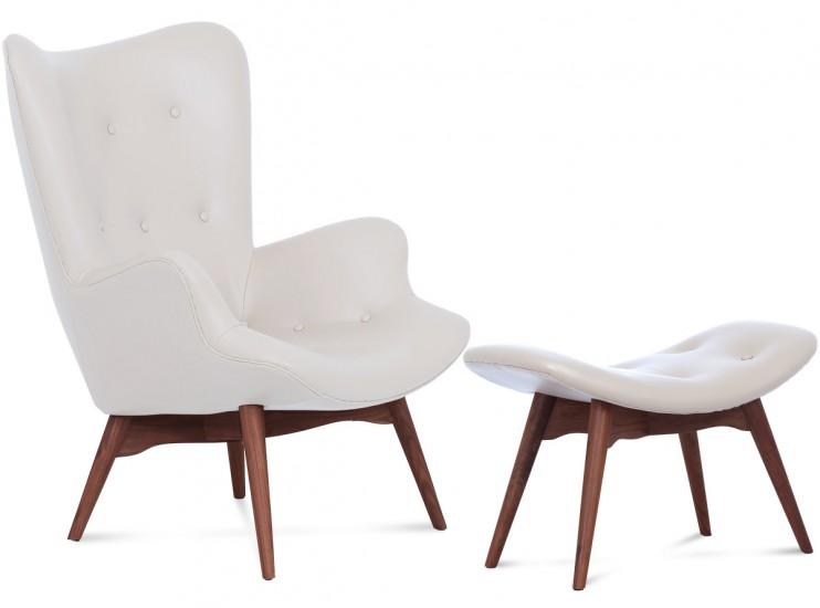Grant Featherston Contour Chair Leather | Platinum Replica