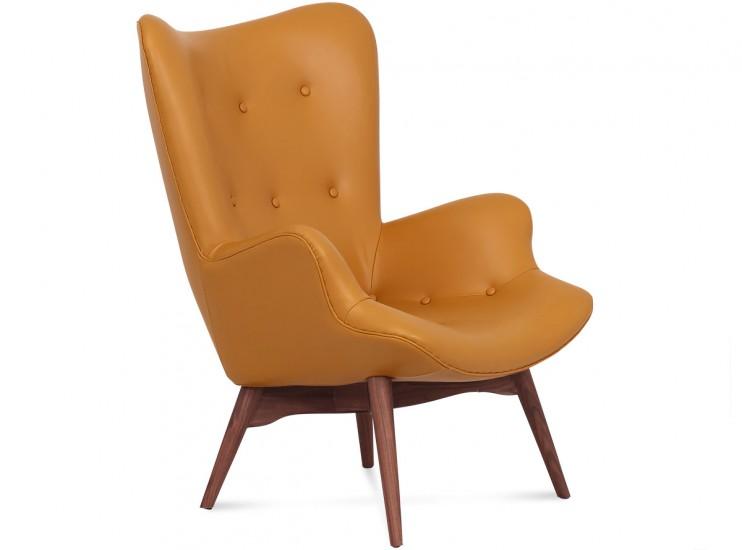 Grant Featherston Contour Chair Leather   Platinum Replica