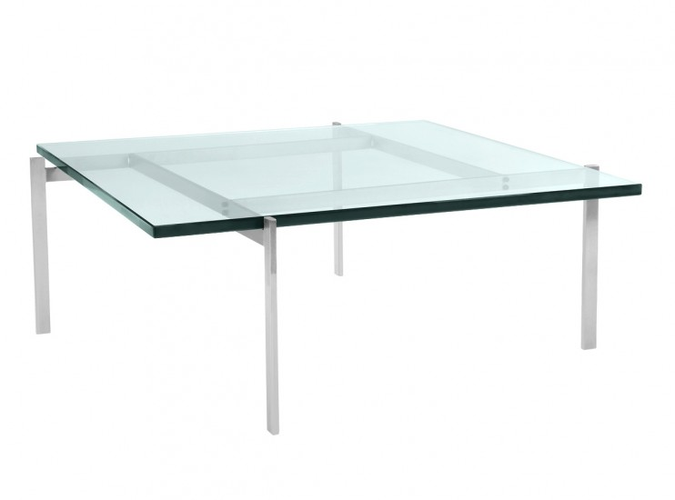 PK61 Coffee Table by Poul Kjaerholm - 19mm Glass (Replica)