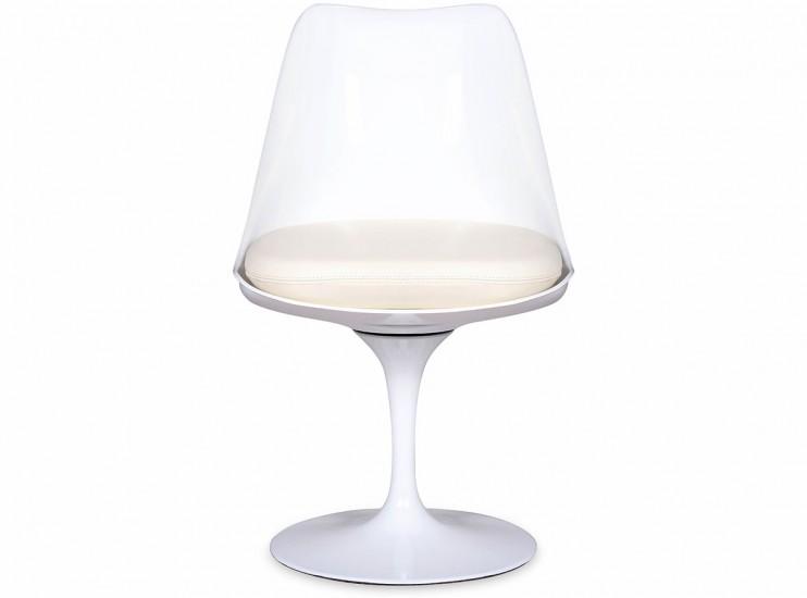 Tulip Chair by Eero Saarinen Fibreglass (Platinum Replica)