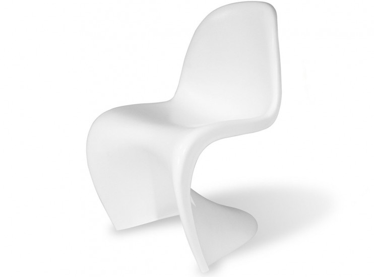 Panton S Chair Fibreglass (Platinum Replica)