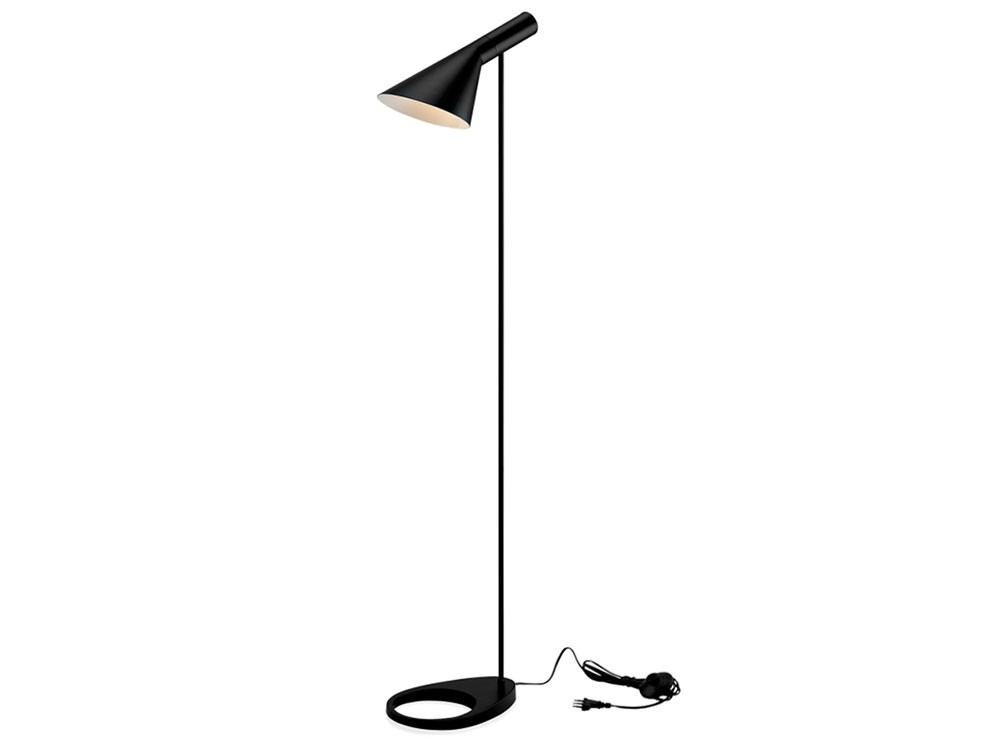 Aj floor lamp by arne jacobsen replica for Arne jacobsen reproduktion