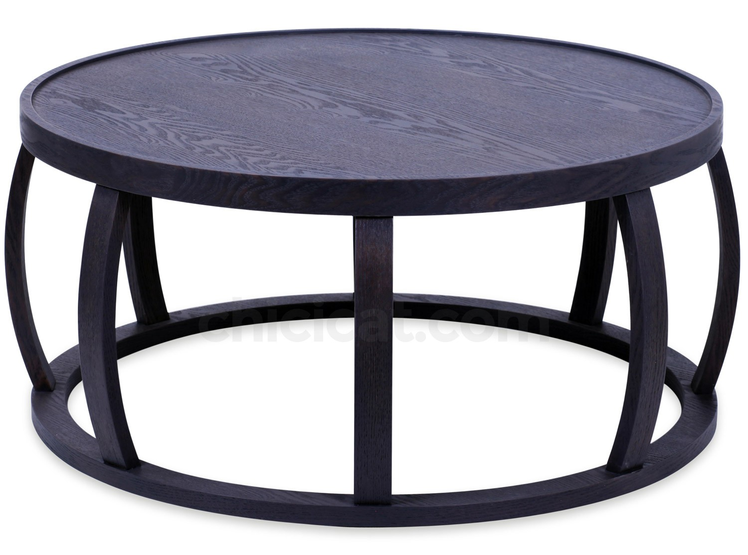 Ambrose Drum Coffee Table 80 Cm