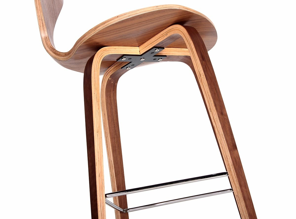 Cherner Bar Stool Platinum Replica