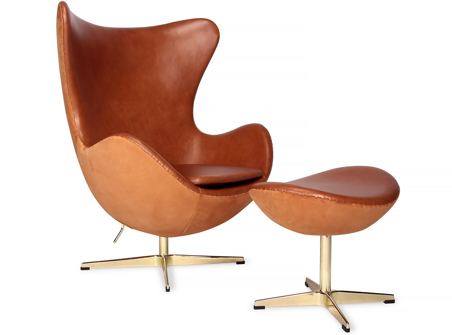 egg chair by arne jacobsen nubuck anniversary collector. Black Bedroom Furniture Sets. Home Design Ideas