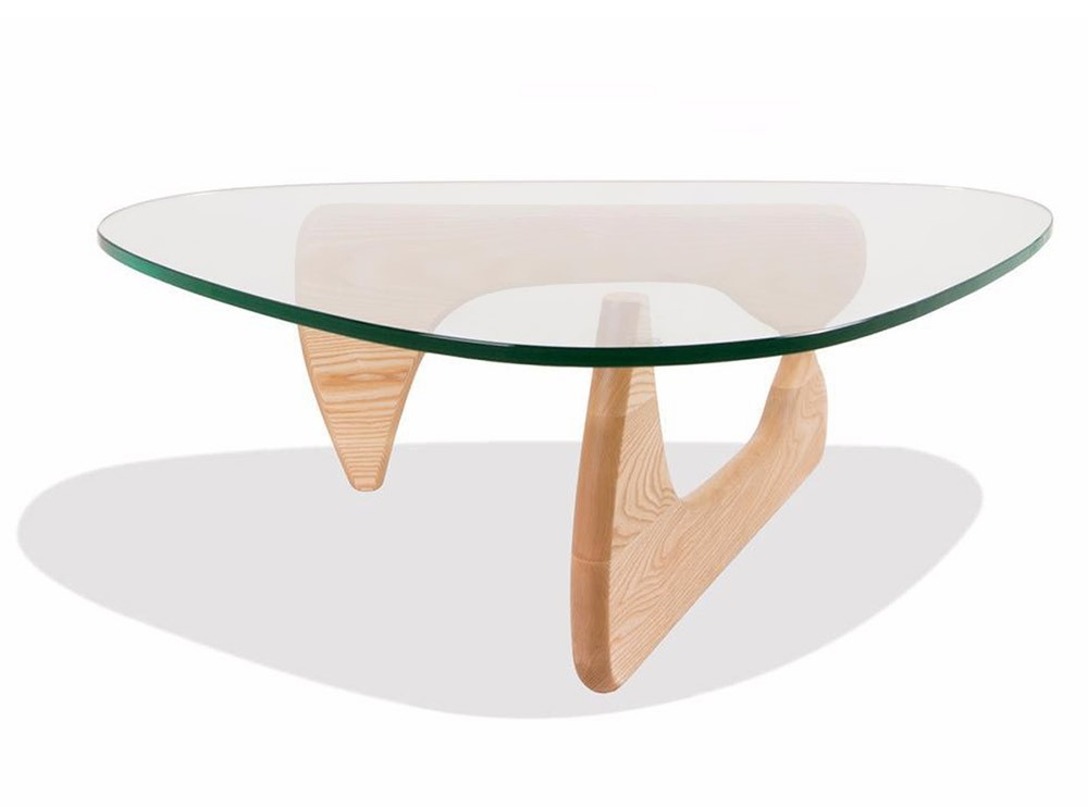 Noguchi coffee table 19mm glass replica 009 wod aash Noguchi replica coffee table