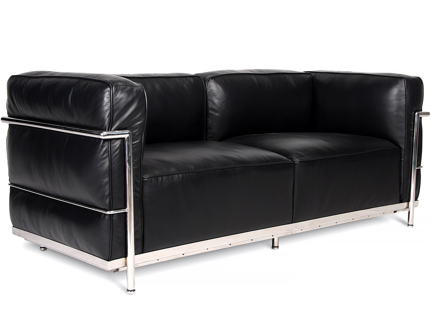 le corbusier lc3 sofa 2 seater grand confort collector