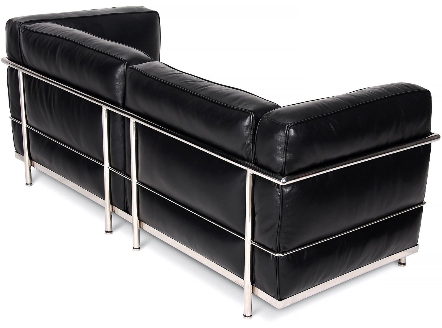 Le corbusier lc3 sofa 2 seater grand confort collector for Le corbusier replica