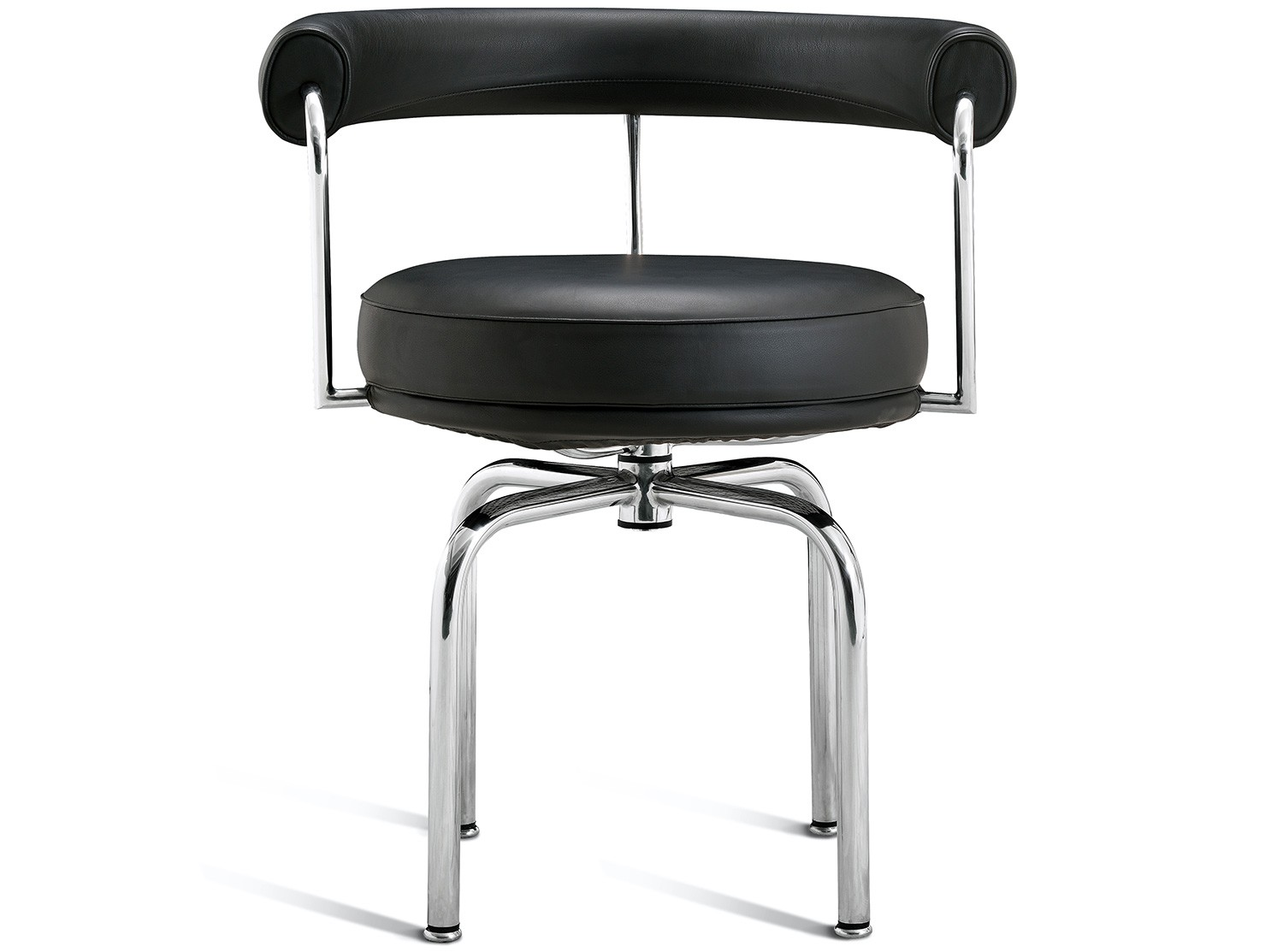 Le Corbusier LC7 Swivel Chair (Platinum Replica)