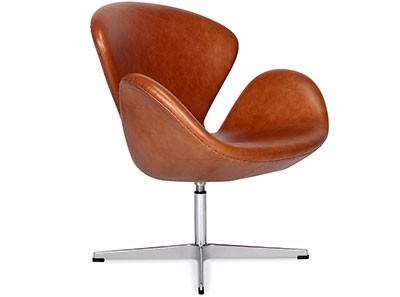 Arne Jacobsen Swan Chair Leather | Platinum Replica