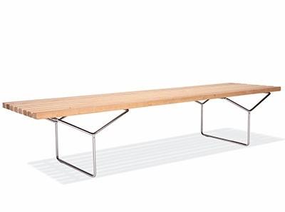 Bertoia Bench (Platinum Replica)