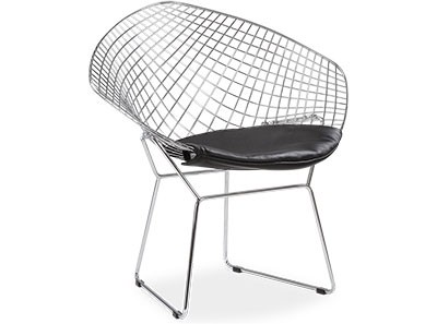 Bertoia Diamond Chair (Platinum Replica)