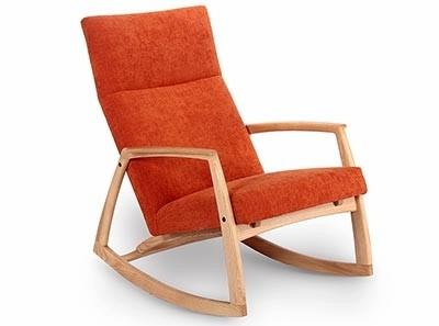 Edvard Danish Rocking Chair by Hendrix Jones
