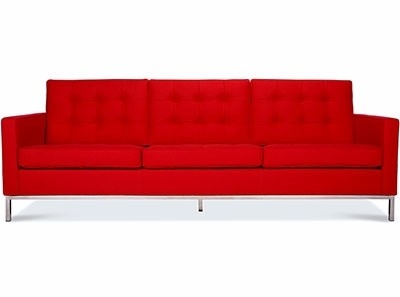 Florence Knoll Sofa 3 Seater | Platinum Replica