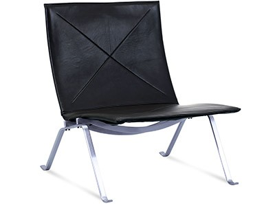PK22 Lounge Chair by Poul Kjaerholm (Platinum Replica)