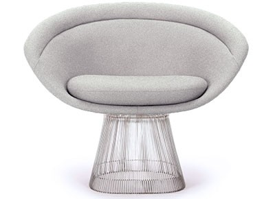 Platner Lounge Chair (Platinum Replica)