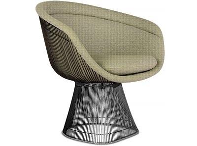 Platner Lounge Chair (Platinum Replica)