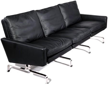 PK31 Sofa 3 Seater by Poul Kjaerholm (Platinum Replica)
