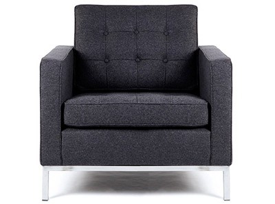 Replica Florence Knoll Armchair Wool