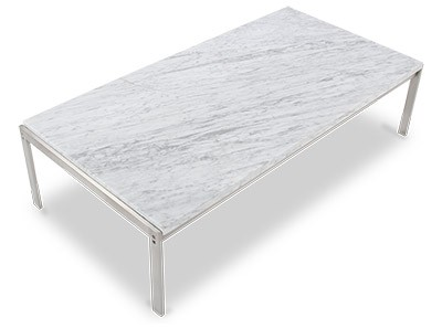 PK63 Marble Top Coffee Table by Poul Kjaerholm (Collector Replica)