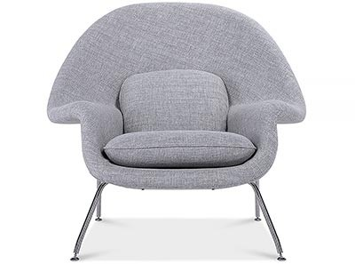 Replica Womb Chair Ottoman by Eero Saarinen