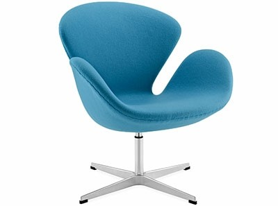 Swan Chair by Arne Jacobsen (Platinum Replica)