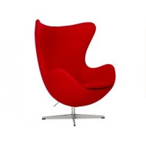 Egg Chair by Arne Jacobsen (Platinum Replica)