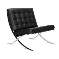 Barcelona Chair by Mies van der Rohe (Platinum Replica)
