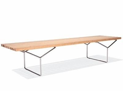 Bertoia Bench (Platinum Replica)