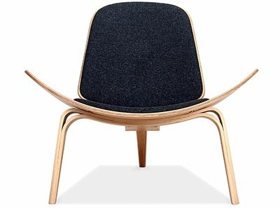 Replica Shell Chair by Hans Wegner