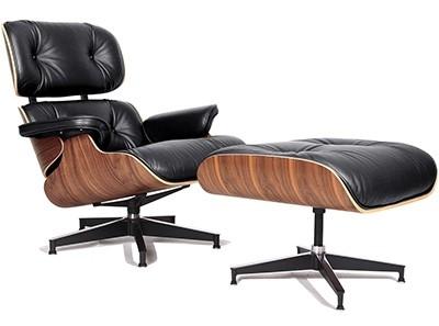 Replica Charles E. Lounge Chair + Ottoman | Collector