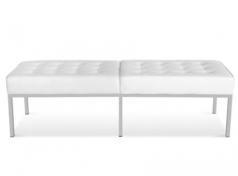 Florence Knoll 3 Seater Bench (Platinum Replica)