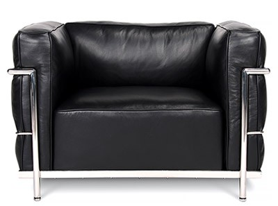 Le Corbusier LC3 Armchair Grand Confort (Collector Replica)