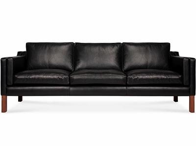 2213 Borge Mogensen 3 Seater Sofa | Platinum Replica